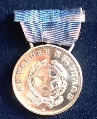 medaglia d'argento al valor marina